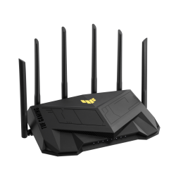 ASUS TUF-AX5400 Dual Band WiFi 6 Gaming Router With Dedicated Gaming Port, AiMesh, 5400 Mbps, OFDMA,