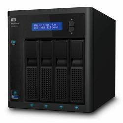 Western Digital My Cloud Pro PR4100 24TB NAS Pentium N3710 Quad-Core 4GB RAM RAID 3xUSB3.0 2xGbE WDBNFA0240KBK-SESN