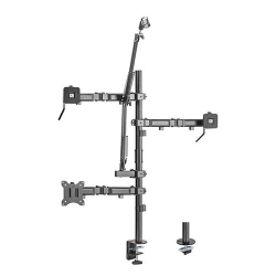 Brateck Single-Monitor All-in-One Studio Setup Desktop Mount Fix 17'-32' Up to 9kg MDS10-1