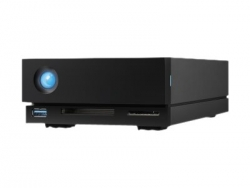 LACIE 1BIG DOCK 8TB 7200RPM ENTERPRISE, USB-C, THUNDERBOLT3, 5YR STHS8000800