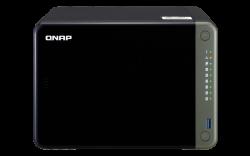 QNAP TS-653D-4G 6-Bay NAS Intel Celeron J4125 Quad-Core 2.0GHz 4GB DDR4 SODIMM RAM 1xPCIe 2xHDMI 4K