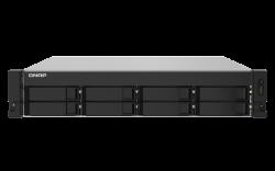 QNAP 8-BAY NAS(NO DISK) ALPINE QC 1.7GHz, 4GB, 2.5GbE(2), 10GbE SFP+(2), RPSU, 3YR WTY TS-832PXU-RP-4G