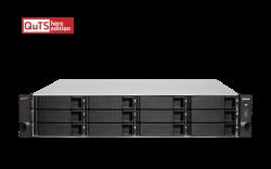 QNAP 12+6 BAY NAS (NO DISK) XEON 4-CORE 2.6GHz, 32GB, 10GbE SFP+(2), GbE(4), RPSU, 3YR WTY TS-H1886XU-RP-D1622-32G