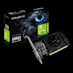 Gigabyte NVIDIA GeForce GT 710 GPU, 1GB GDDR5 64bit memory interface,954MHz, Dual-link DVI-I / HDMI GV-N710D5-1GL rev. 2.0