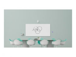 LOGITECH SCRIBE WHITEBOARD CAMERA FOR TEAMS & ZOOM ROOMS, WHITE - 2YR WTY 960-001332