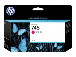 HP 745 130-ML MAGENTA DESIGNJET INK CARTRIDGE - Z2600/Z5600  F9J95A