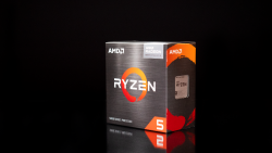 AMD Ryzen 5 5600G Desktop CPU (Boxed), 6-Core/ 12 Threads UNLOCKED, Max Freq 4.4 GHz, 16MB L3 Cache AM4 65W, With Wraith Stealth cooler
