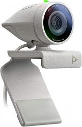 POLY STUDIO P5 USB WEBCAM, 1080P, 4X ZOOM W/ INTEGRATED HEADSET USB PORT & PRIVACY SHUTTER 2200-87070-001