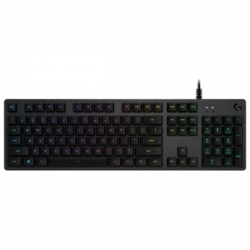 Logitech G512 CARBON LIGHTSYNC RGB MECHANICAL GAMING KEYBOARD WITH GX BROWN SWITCHES 920-009354