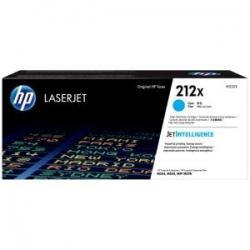 HP 212X High Yield Cyan Orig LaserJet Toner Cartridge W2121X
