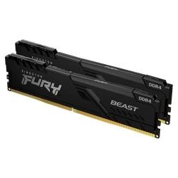 Kingston 64GB DDR4-3600MHz CL18 DIMM (Kit of 2) FURY Beast Black KF436C18BBK2/64
