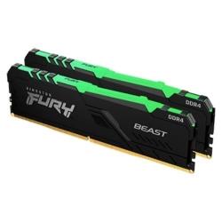 Kingston 64GB DDR4-3600MHz CL18 DIMM (Kit of 2) FURY Renegade RGB KF436C18RBAK2/64