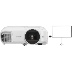 Epson EH-TW5700 FULL HD HOME THEATRE PROJECTOR WITH SMART MEDIA PLAYER INCLUDED AND GET A BONUS 80 PORTABLE TRIPOD SCREEN TW5700+ELPSC21B