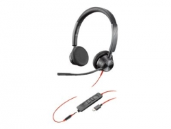 PLANTRONICS BLACKWIRE 3325, UC, STEREO W/ 3.5MM, USB-C HEADSET - PROMO ENDS 30SEP21 213939-01