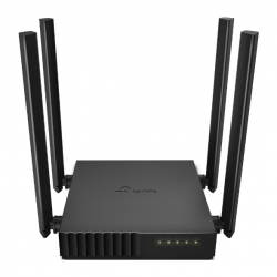 TP-Link ARCHER C54 Router: Dual Band MU-MIMO Wireless AC1200 (300+867Mbps), 1x10/100 WAN, 4x 10/100 LAN, 4 Fixed Antennas