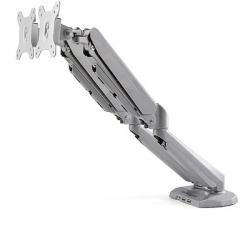 "STARTECH.COM DESK MOUNT DUAL MONITOR ARM WITH USB/AUDIO - 12-32"" VESA LCD 2 YR ARMSLIMDUOS"