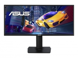"ASUS VP348QGL 34"" Gaming Monitor UWQHD (3440x1440) 21:9, 4MS, 75Hz,1000:1, HDR10, HDMI, DP,SPK, H/ADJ,3YR"