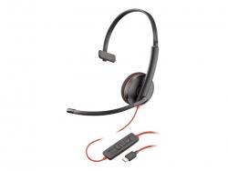 PLANTRONICS BLACKWIRE C3210 UC MONO USB-C CORDED HEADSET - PROMO ENDS 26 JUN 21 209748-201