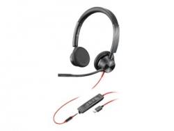 PLANTRONICS BLACKWIRE 3325-M, UC, MONO USB-C CORDED HEADSET - PROMO ENDS 26 JUN 21 214017-01