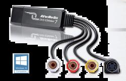 AVerMedia C039 EZMaker 7, Standard Definition USB Video Capture Card (61C0390000AK)