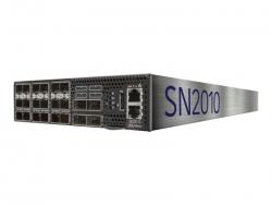 MELLANOX 25GBE/100GBE 1U SWITCH, CUMULUS, 18xSFP28,4xQSFP28, 2xPSU, x86 CPU, SHORT, P2C MSN2010-CB2FC