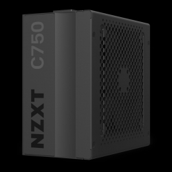 NZXT NP-C750M-AU ATX PSU: 750W, 80 PLUS GOLD, 120mm Fan, 2x CPU (4+4), 4x PCIE (6+2), 8x SATA