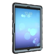 Bundle Gumdrop DropTech Clear for iPad 10.2 (7th & 8th Gen) with Hand Strap with 360 degree rotation