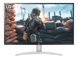 "LG 27"" (16:9) UHD 4K IPS LED, HDMI(2), DP, SPEAKERS, HDR400 ,VESA, 3YR 27UP600-W"