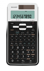 Sharp 470 MATH FUNCTION DUAL POWERED METRIC PHYSICAL CONSTANT SCIENTIFIC CALCULATOR - WHITE EL506TSBWH