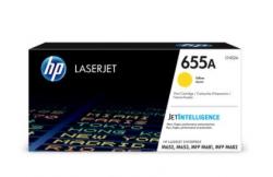 HP 655A Yellow Original LaserJet Toner Cartridge CF452A