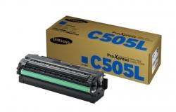 Samsung CLT-C505L H-Yld Cyan Toner Cr SU036A
