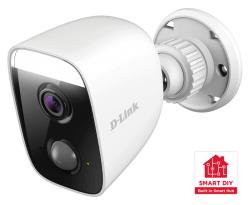 D-Link mydlink Full HD Outdoor Wi-Fi Spotlight Camera with Built-in Smart Home Hub (DCS-8630LH)