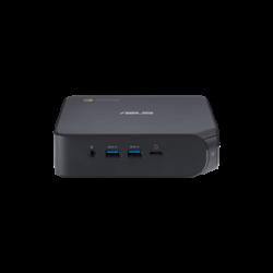 ASUS Chromebox 4 - i7-10510U, 8GB DDR4, 128GB M.2 SSD, 5 x USB 3.1, 1 x USB-C, 2 x HDMI 2.0, 1 x RJ45, Integrated GPU, WiFi AX201, BT 5.0, NO KBM; 1YR OSS (90MS0252-M00140)