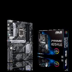 Asus PRIME H570-PLUS MB H570 ATX: Socket 1200 For Intel 11th/10th Gen. Processors 4x DDR4, 6x SATA 6Gb/s, 2x M.2, USB 3.2 Gen2,