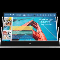 """HP E14 G4 Portable Monitor, 14"""" FHD, 1920x1080, USB-C, Power Pass-Through, 3YR WTY (1B065AA)"""