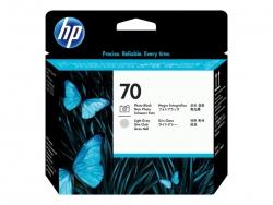 HP 70 PHOTO BLACK AND LIGHT GRAY PRINTHEAD - Z2100/3100/Z5400/Z5200/Z3200 C9407A