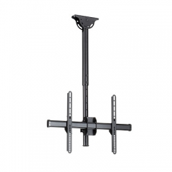 """STARTECH.COM CEILING TV MOUNT - 1.8' TO 3' SHORT POLE - FOR 32"""" TO 75"""" TVS 5YR FPCEILPTBSP"""