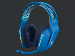 Logitech G733 LIGHTSPEED Wireless RGB Gaming Headset - Blue 981-000946