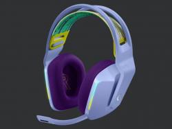 Logitech G733 LIGHTSPEED Wireless RGB Gaming Headset - Lilac 981-000893