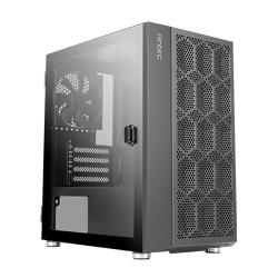 Antec NX200M m-ATX, ITX Value Case, Large Mesh Front for excellent cooling, Side Window, 1x 12CM Fan Included, Radiator up to 240mm.
