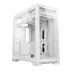 Antec P120 Crystal WHITE Tempered Glass ATX, E-ATX, Heat Dissipation, VGA Holder, Horizontal and Vertical Scalability, Slide Panel, Gaming Case (P120 CRYSTAL WHITE)