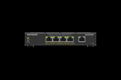 NETGEAR SOHO 5-port PoE+ Gigabit Smart Managed Plus Switch (GS305EP) GS305EP-100AUS