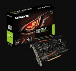 Gigabyte GV-N105TOC-4GD Rev1.1 nVidia GeForce GTX1050Ti OC 4GB GDDR5, OC Boost Clock: 1455 MHz,