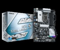 Asrock H570 STEEL LEGEND Motherboard Supports 10th Gen Intel Core Processors and 11th Gen Intel Core Processors