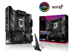 Asus INTEL B560 LGA 1200 MICRO ATX MOTHERBOARD WITH PCIE 4.0 8+2 TEAMED POWER STAGES ROG STRIX B560-G GAMING WIFI