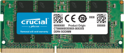CRUCIAL 8GB DDR4 NOTEBOOK MEMORY, PC4-25600, 3200MHz, UNRANKED, LIFE WTY CT8G4SFRA32A