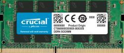 Crucial DDR4 8GB 2666Mhz (PC-21300) CL19 SR x8 Unbuffered Non-ECC SODIMM 260pin CT8G4SFRA266