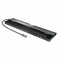 J5create JCD542 USB-C to  Dual HDMI Docking Station (USB-C to Dual HDMI,USB3.0x3, RJ45, SD/MicroSD card reader,