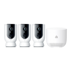 TP-Link KASA SMART WIRELESS CAMERA SYSTEM 3-PACK WITH HUB  KC300S3