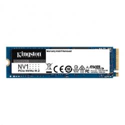Kingston SNVS/2000G M.2 NVMe SSD: 2TB NV1, PCIe Gen3, Read: 2100MB/s, Write: 1700MB/s, 480 TBW, 1.5M MTBF
